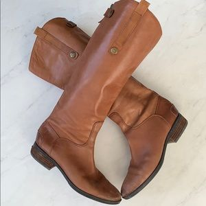 Women's Sam Edelman brown knee boots